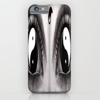 7 Eye Collection: Yin Yang In Your Eyes iPhone 6 Slim Case