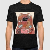 Female Anatomy Chart (According to Our Government) Mens Fitted Tee Tri-Black SMALL
