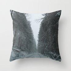 Safe House Throw Pillow