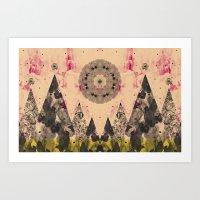 COSMIC FOREST Art Print