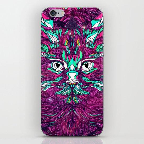 Space Cat (Feat. Bryan Gallardo) iPhone & iPod Skin
