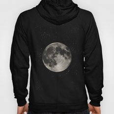The Moon  [Sans Type] Hoody