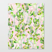 Prickly Pear Patch pt2. Canvas Print