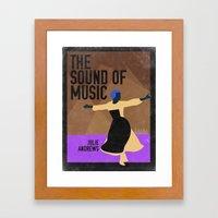 The Sound of Music Framed Art Print