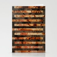 Rusty Barrel Abstraction Stationery Cards