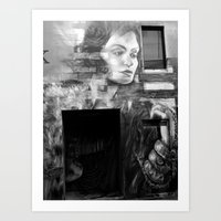 The Painted Lady Art Print