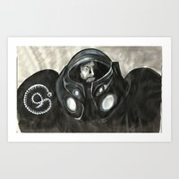 Space Marine Art Print