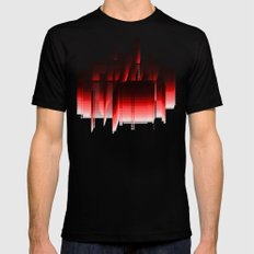 Color SMALL Mens Fitted Tee Black