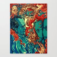 Colored Nightmares  Canvas Print