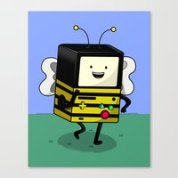 BEE-MO Canvas Print