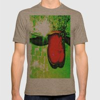 unTitled Mens Fitted Tee Tri-Coffee SMALL