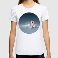 I'm all alone in a world that seems so dark Womens Fitted Tee Ash Grey SMALL