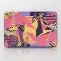 Dazzle Camo #03 - Purple & Yellow iPad Case