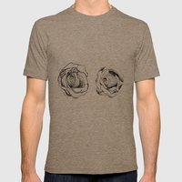 Two Roses for my Friends Mens Fitted Tee Tri-Coffee SMALL