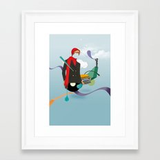 ILOVEMUSIC #6 Framed Art Print
