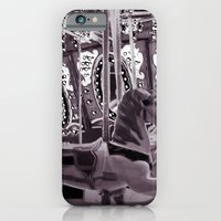 iPhone & iPod Case featuring Merry Go Round by Dana E