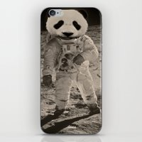 One Small Step For Man, One Giant Panda For Mankind iPhone & iPod Skin