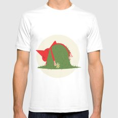 COUNTRYSIDE MOOD Mens Fitted Tee White SMALL