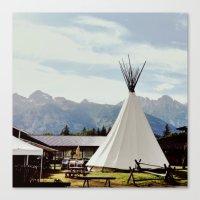 Mountain Life Canvas Print