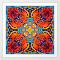 Mandala #6 Art Print