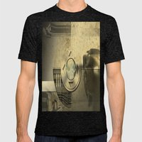 On My Mind Mens Fitted Tee Tri-Black SMALL