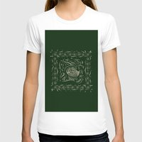 Sea Shell  Womens Fitted Tee White SMALL
