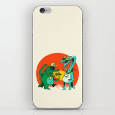 Kaiju Rap Battle iPhone & iPod Skin