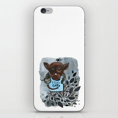 Mr. Boxer is in love with Cats iPhone & iPod Skin