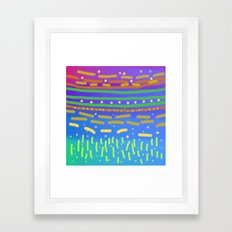 The First Plants Framed Art Print