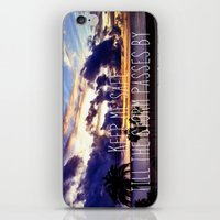 Till The Storm Passes iPhone & iPod Skin