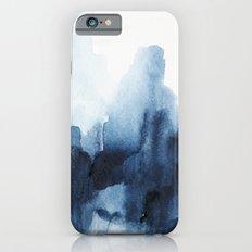 Indigo watercolor 2 iPhone 6 Slim Case