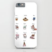 iPhone & iPod Case featuring Parks & Rec Ice Cream - White Background by Tyler Feder