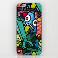 Artsy Bot iPhone & iPod Skin
