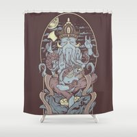 Perception  Shower Curtain