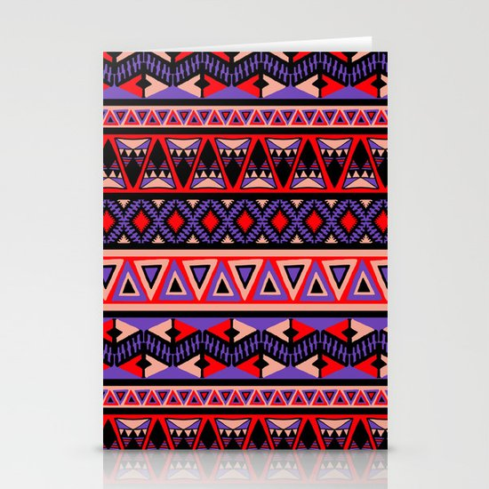 Neo Tribal Stationery Card