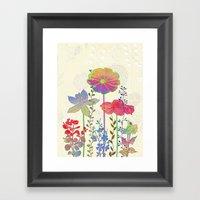 Flower Tales 4 Framed Art Print