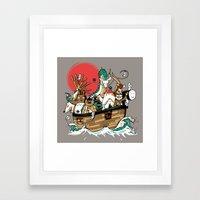 Miyazaki's ark Framed Art Print