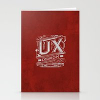 UX - Industrial Design - Red Stationery Cards