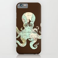 iPhone Cases featuring All Around The World by Enkel Dika