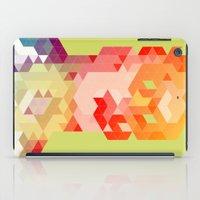 Geometric Hero 2 iPad Case