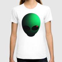 alien T-shirts featuring Alien by Nicklas Gustafsson