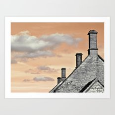 cloud factory... Art Print