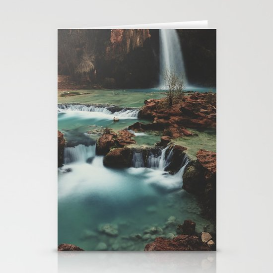 Havasu Falls Stationery Card
