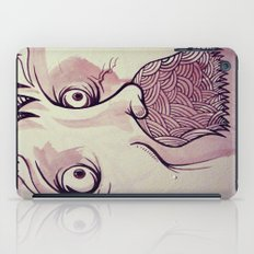 In Your Face Mr. Moustache iPad Case