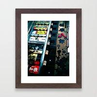 TKY-Shinjuku Framed Art Print