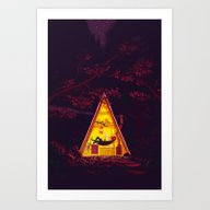 The Hideout – Night Ve… Art Print