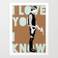 I know Art Print
