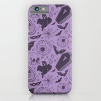 Spooky Scary Halloween print iPhone 6 Slim Case