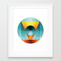 Everything In Place Framed Art Print