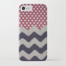 Chevron and Dot Slim Case iPhone 7